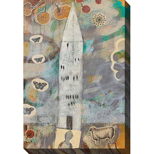 Gallery Direct Judy Paul 'Big House' Gallery-wrapped Canvas Art