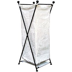 Cotton/ Iron Laundry Hamper