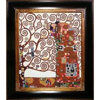 Gustav Klimt 'The Embrace' Oil Painting