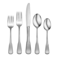 Black Flatware Place Settings