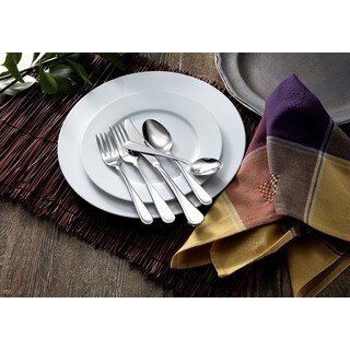 Oneida Flight Stainless Steel 45-piece Flatware Set (Service for 8)