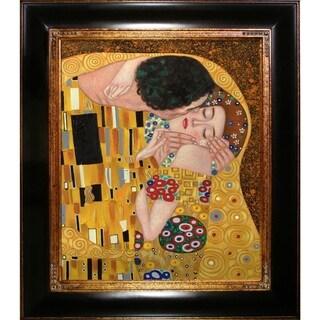 Gustav Klimt 'The Kiss' Oil Painting
