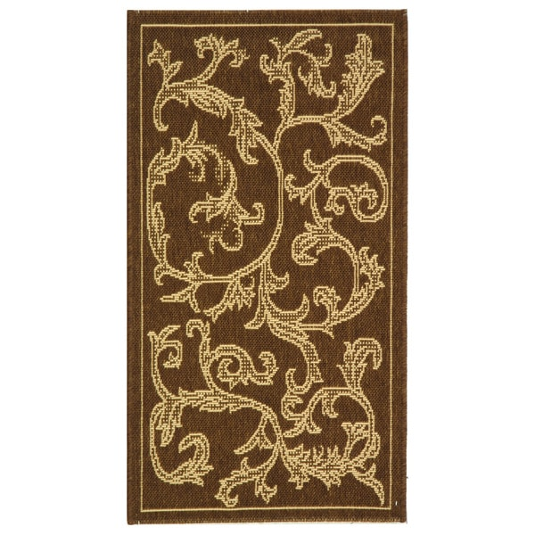 Safavieh Mayaguana Brown/ Natural Indoor/ Outdoor Rug - 2' x 3'7