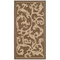 Safavieh Mayaguana Brown/ Natural Indoor/ Outdoor Rug - 2' x 3'-7""