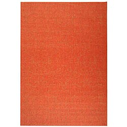 Safavieh Indoor/ Outdoor St. Barts Red Rug (8' x 11')