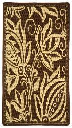 Safavieh Andros Chocolate/ Natural Indoor/ Outdoor Rug (2' x 3'7)