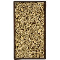 Safavieh Acklins Natural/ Brown Indoor/ Outdoor Rug - 2' x 3'7