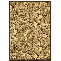 Safavieh Acklins Natural/ Brown Indoor/ Outdoor Rug (2'7 x 5')