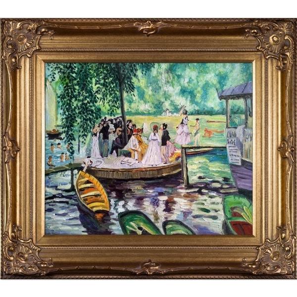 Shop Renoir 'The Frog Pond' Canvas Art