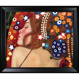Gustav Klimt 'Sea Serpents' Canvas Art