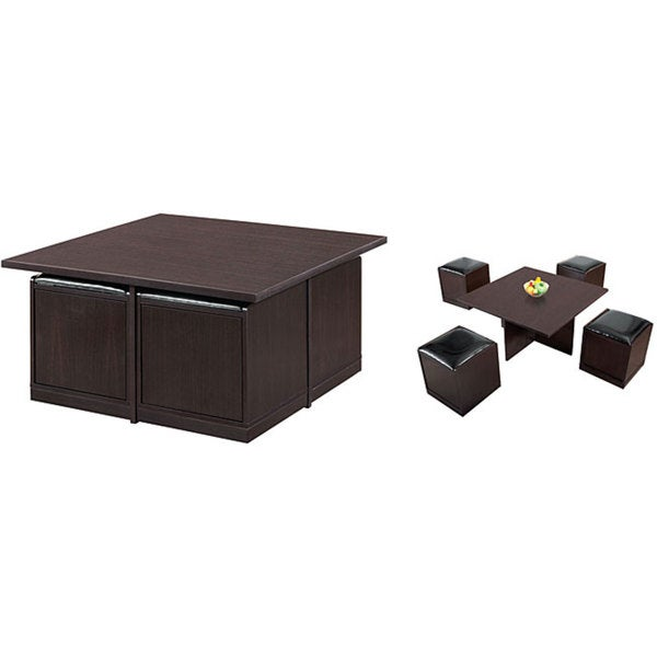 coffee station furniture. exellent station coffee station furniture furniture of america yusawa 5piece  and stool set throughout coffee station furniture