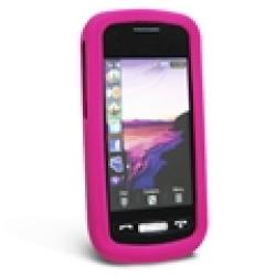 Pink Silicone Skin Case for Samsung Solstice A887