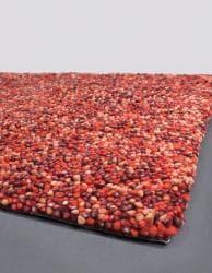 Hand-woven Mandara New Zealand Wool Shag Rug (7'9 x 10'6) - Thumbnail 1