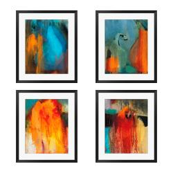 Gallery Direct Sylvia Angeli 'Abstracted Fruit V, VI, IX, XIV' 4-piece Art Set