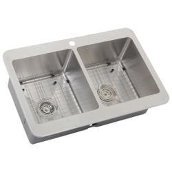 Ticor Royale Stainless Steel 16-gauge Overmount Kitchen Sink - Thumbnail 2
