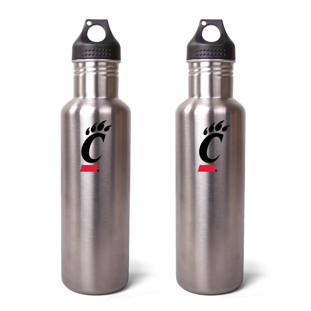 Pinemeadow Cincinnati Bearcats 27-oz Stainless Steel Water Bottles (Pack of 2)