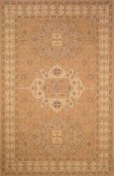 Medallion Oatmeal Outdoor Rug (1'11 x 7'6)