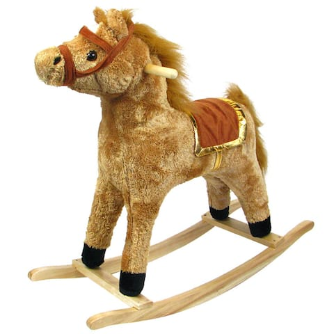 The Great Circus Rocking Horse Toy with Saddle