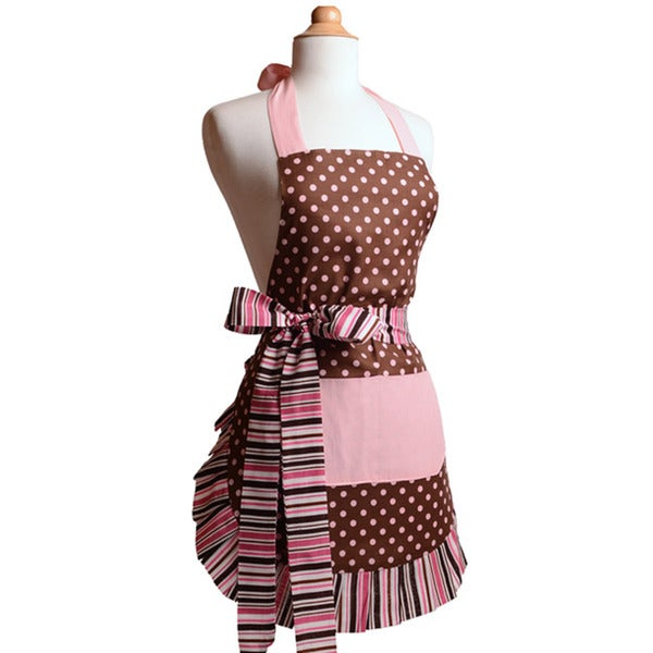 Pink Chocolate Women's Original Flirty Apron