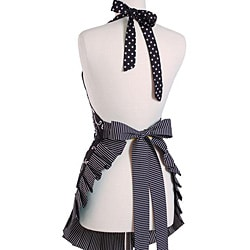 Women's Sassy Black Original Flirty Apron - Thumbnail 1