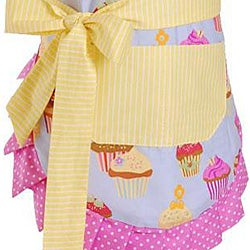 Frosted Cupcake Girl's Original Flirty Apron - Thumbnail 2