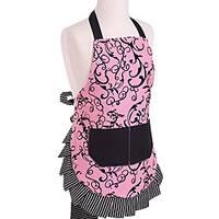Chic Pink Girl's Original Flirty Apron