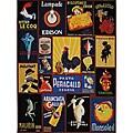 Safavieh Hand-hooked Vintage Poster Wool Rug (8'9 x 11'9)