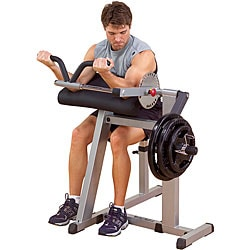 Plate Loaded Bicep and Tricep Fitness Machine - Thumbnail 0