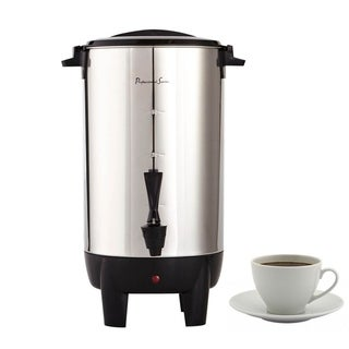 Continental Electric Pro 30-Cup Coffee Urn Stainless Steel