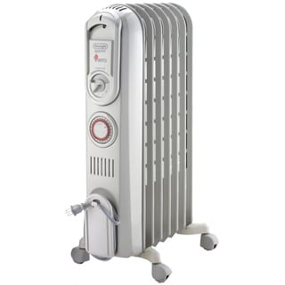 DeLonghi TRV0715T Vento High-Speed Convection Oil-Filled Radiator with Programmable Timer