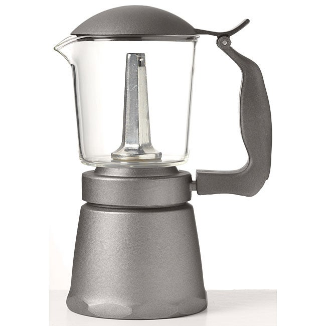 Primula Glass Top Stovetop Espresso Coffeemaker