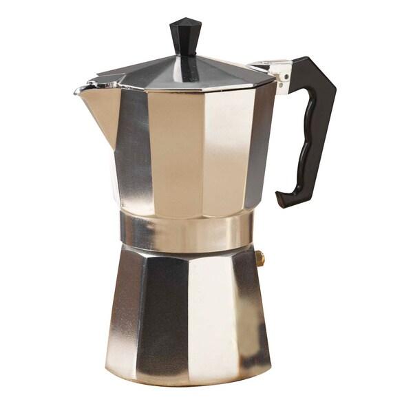 Shop Primula Aluminum Stovetop Espresso Coffeemaker Free Shipping