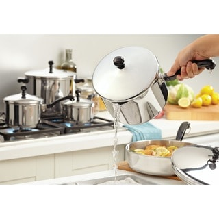 Farberware Classic Stainless Steel 17-piece Cookware Set