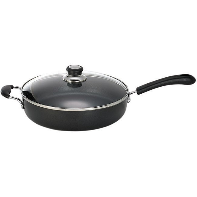 T-Fal Jumbo Cooker 5-quart Nonstick Pan with Lid
