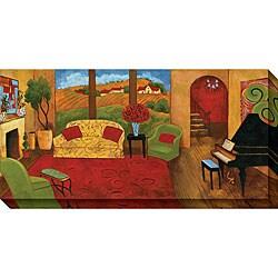 Gallery Direct Cecile Broz 'Lavish Surroundings I' Oversized Canvas Art