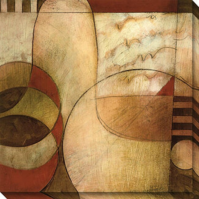 Gallery Direct DeRosier 'Transformation I' Oversized Canvas Art