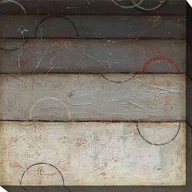 Gallery Direct DeRosier 'Silver Spectrum II' Oversized Canvas Art