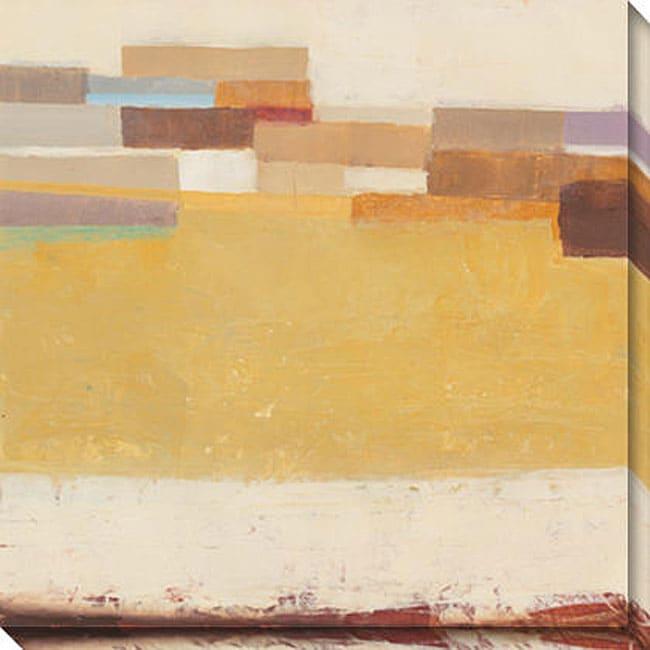 Gallery Direct Sean Jacobs 'Golden Mesa II' Oversized Canvas Art