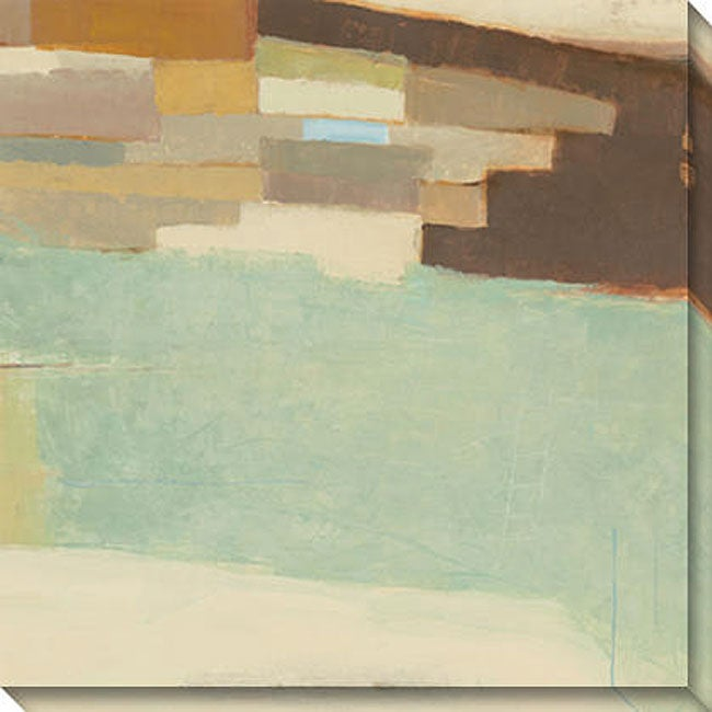 Gallery Direct Sean Jacobs 'Verdant Mesa I' Oversized Canvas Art