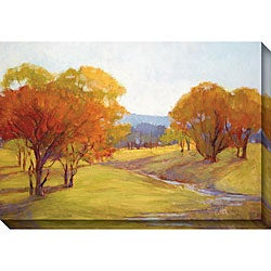 Gallery Direct Kim Coulter 'Autumn Day I' Oversized Canvas Art