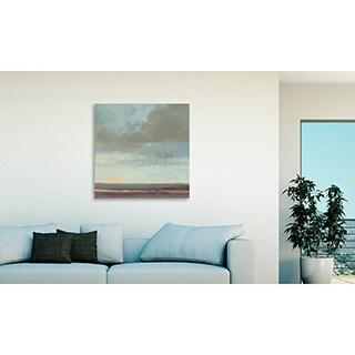 Gallery Direct Kim Coulter U0027Viridian Sky IIu0027 Oversized Canvas Art