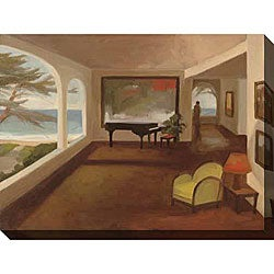 Gallery Direct Kim Coulter 'The Terrace Room I' Oversized Canvas Art