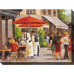 Gallery Direct Karen Wilkerson 'Paris Street Scene II' Oversized Canvas Art