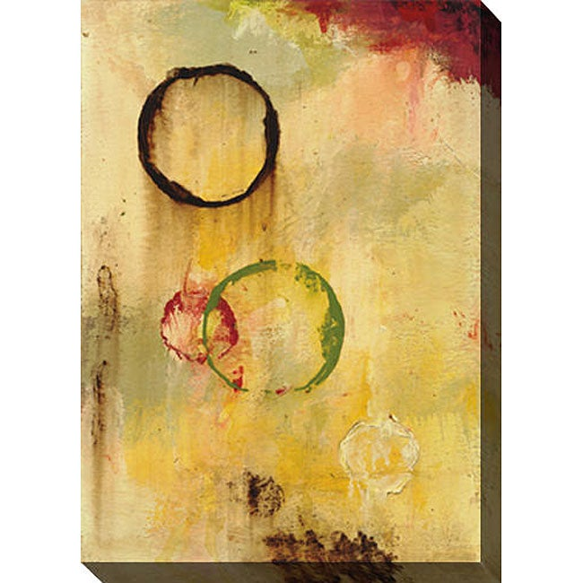 Gallery Direct Leslie Saris 'Real Meaning I' Giclee Canvas Art