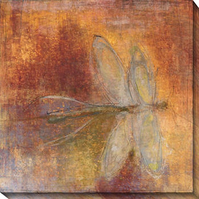Gallery Direct Maeve Harris 'Dragonfly II' Oversized Canvas Art - Thumbnail 0