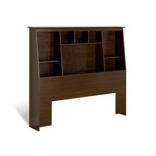 Everett Espresso Full/Queen Tall Slant-back Bookcase Headboard https://ak1.ostkcdn.com/images/products/3908863/P11958298.jpg?impolicy=medium