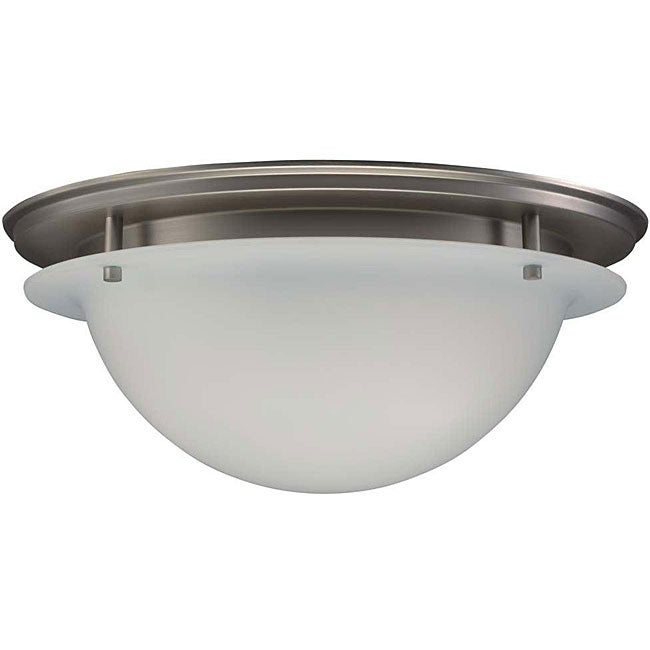 Brushed Nickel 3-light Ceiling Fixture