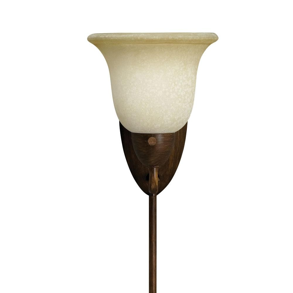 Golden Bronze Plug-in Corner Lamp