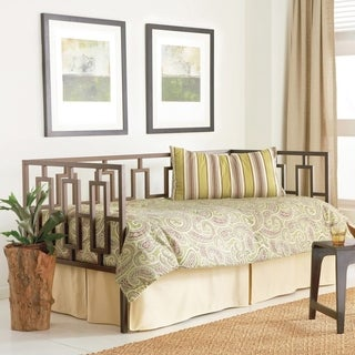 Fashion Bed Group Miami Daybed Frame with Geometric Design