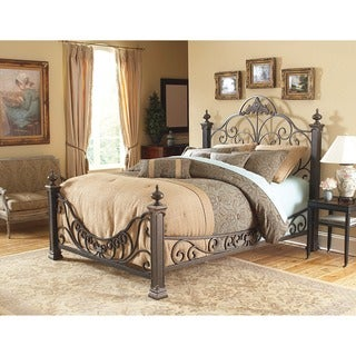 Baroque Style Metal Bed